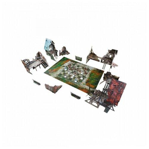 3D пазл Умная бумага - Шахматная игра Городские руины - серия Волшебные королевства 48х32 см 581