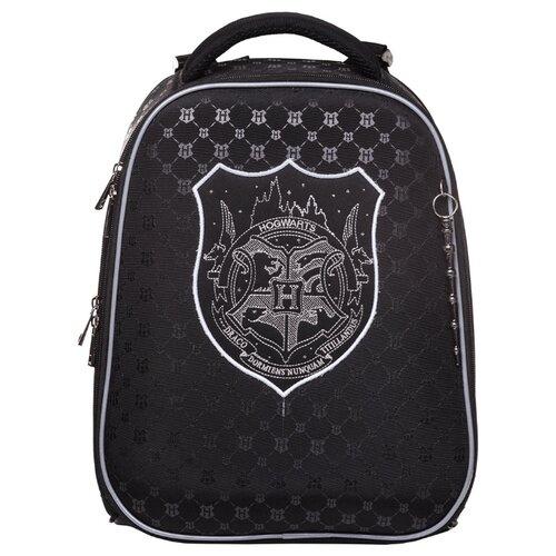 Hatber Ранец Ergonomic Classic Гарри Поттер (NRk_45055), черный hatber ранец школьный hatber ergonomic plus eva 2 отд 2 кармана светоотраж camo army