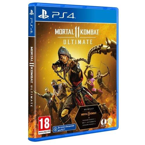 Купить Игра для PlayStation 4 Mortal Kombat 11 Ultimate, Warner Bros.