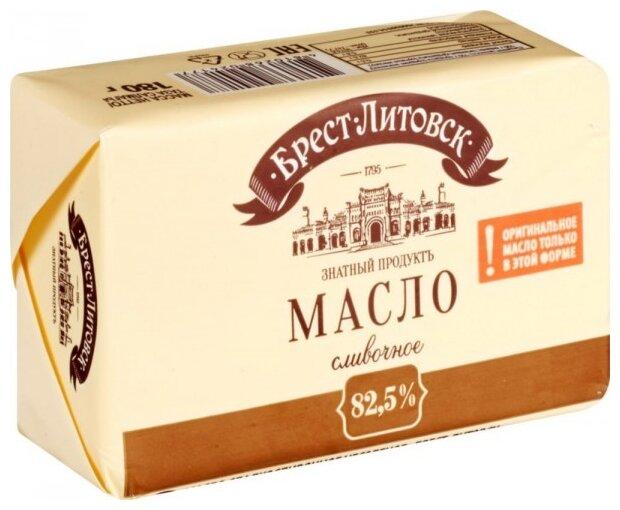 Брест-Литовск Масло сливочное 82.5%, 180 г