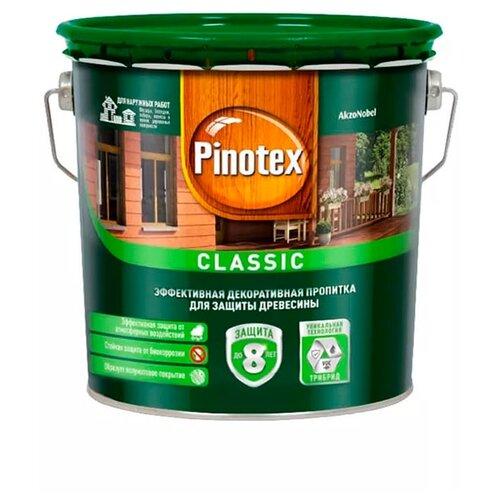 Фото - Водозащитная пропитка Pinotex Classic бесцветный 2.7 л водозащитная пропитка pinotex classic светлый дуб 1 л