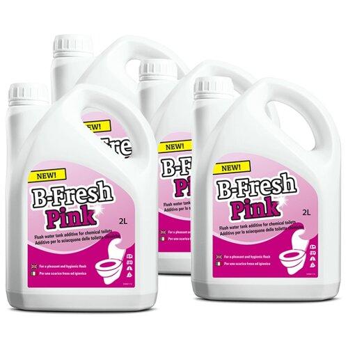 Thetford Туалетная жидкость B-Fresh Pink, 4шт 2 л 4 шт.