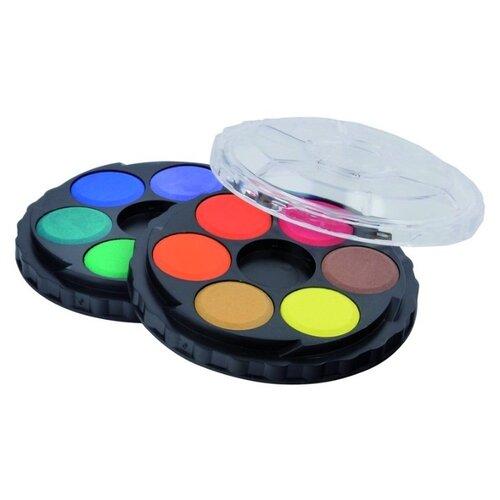 Купить KOH-I-NOOR круглые акварельные краски 12 цветов (V017150300000), Краски