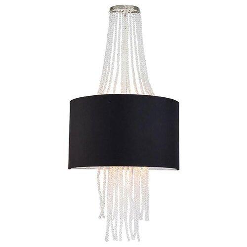 Фото - Настенный светильник Lucia Tucci Cosmopolitan W2970.2 Black, 80 Вт настенный светильник lucia tucci ashanti w1250 2 blu
