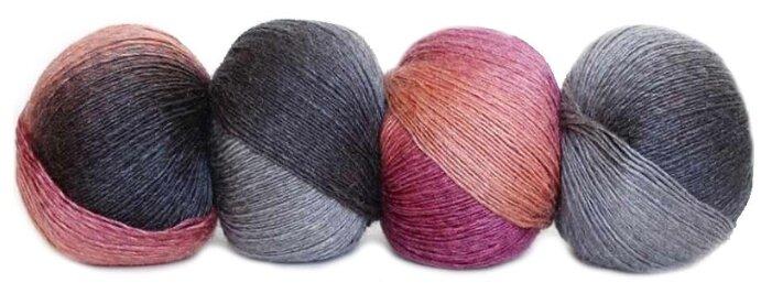 Купить Пряжа Seam Rainbow, цвет Светло-розовый-сиреневый-серый по низкой цене с доставкой из Яндекс.Маркета (бывший Беру)