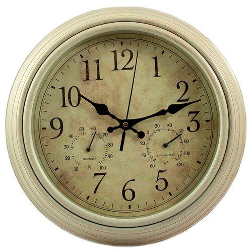Часы настенные кварцевые Viron 222450 серыйЧасы настенные<br>