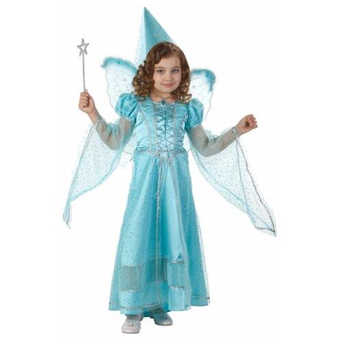 Купить Костюм Батик Фея сказочная (476), голубой, размер 128, Карнавальные костюмы