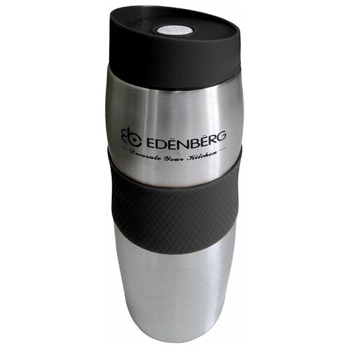 Термокружка Edenberg EB-621 объем 380мл, чёрная