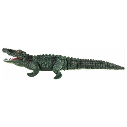 Купить Интерактивная игрушка робот 1 TOY Робо-крокодил зеленый, Роботы и трансформеры
