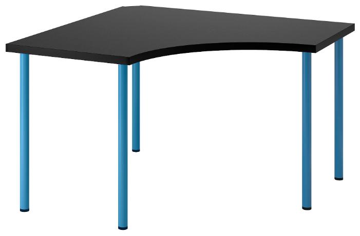 Компьютерный стол угловой IKEA Линнмон / Адильс — купить по выгодной цене на Яндекс.Маркете