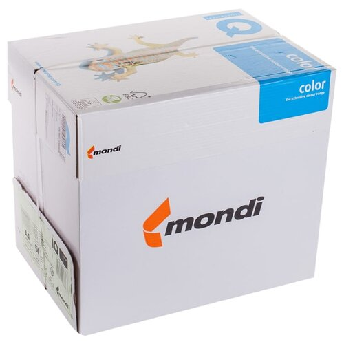 Фото - Бумага IQ Color А4 160 г/м² 250 лист. 5шт. бумага iq color а4 color 120 г м2 250 лист оранжевый or43 1 шт