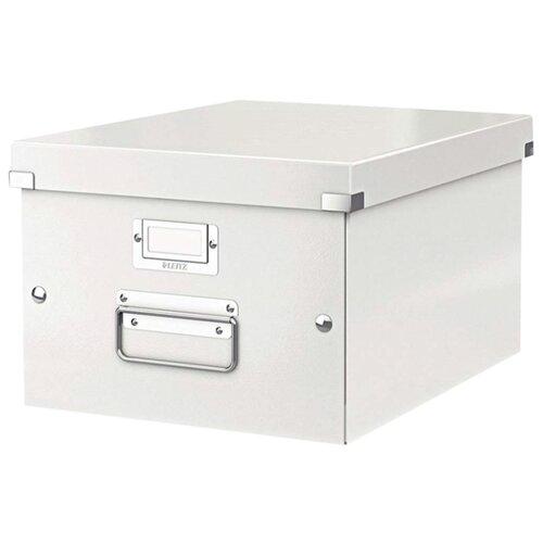 Купить Leitz Короб архивный Click & store WOW M А4, ламинированный картон белый, Файлы и папки