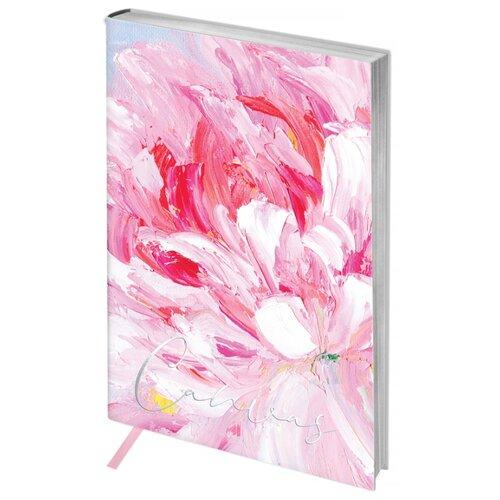 Купить Ежедневник Greenwich Line Vision. Canvas недатированный, искусственная кожа, А6, 80 листов, розовый, Ежедневники, записные книжки