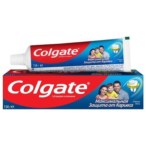 Купить Зубная паста Colgate Максимальная защита от кариеса Свежая мята, 100 мл
