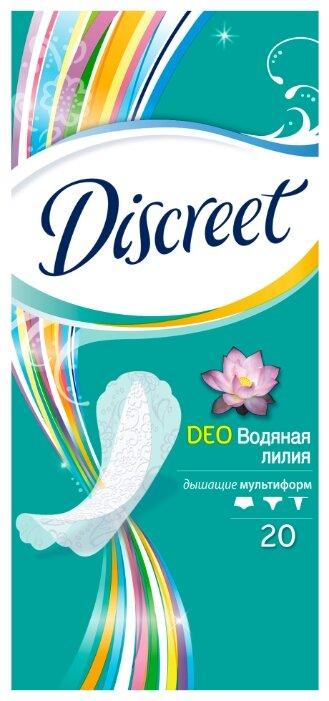 Discreet прокладки ежедневные Deo Water Lily Multiform