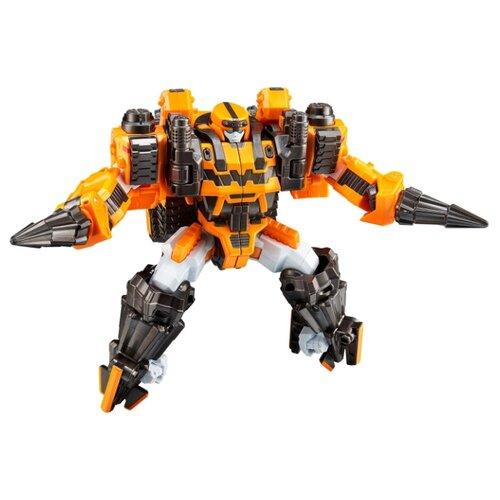 Купить Трансформер YOUNG TOYS Tobot Galaxy detectives Megadrill 301104 желтый/серый, Роботы и трансформеры