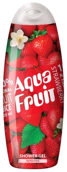 Гель для душа AQUAFRUIT strawberry sensitive