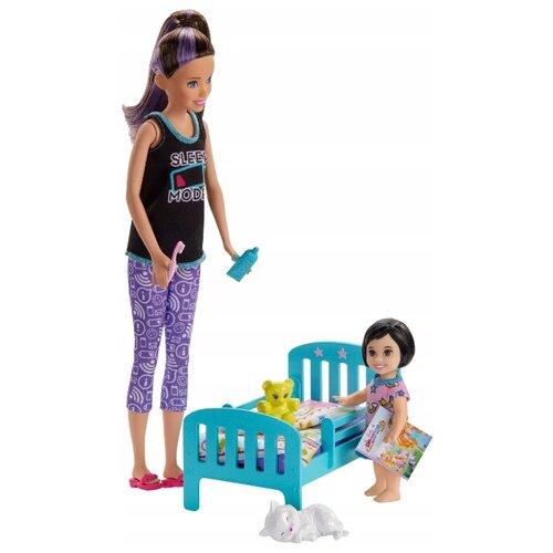 Купить Игровой набор Barbie Skipper Babysitters Inc.Няня Скиппер, кроватка для малышки, GHV88, Куклы и пупсы