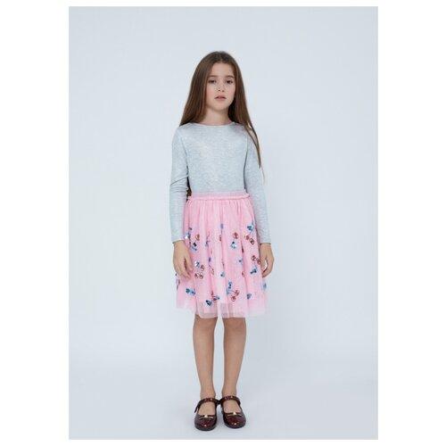 Фото - Платье Zarina размер 134, розовый джинсы zarina 0328465765 101