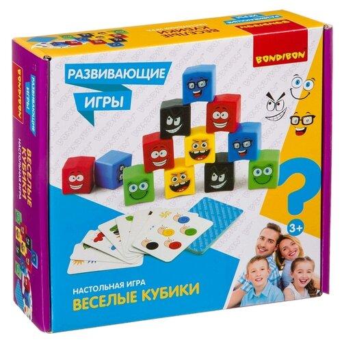 цена на Настольная игра BONDIBON Веселые кубики ВВ4171