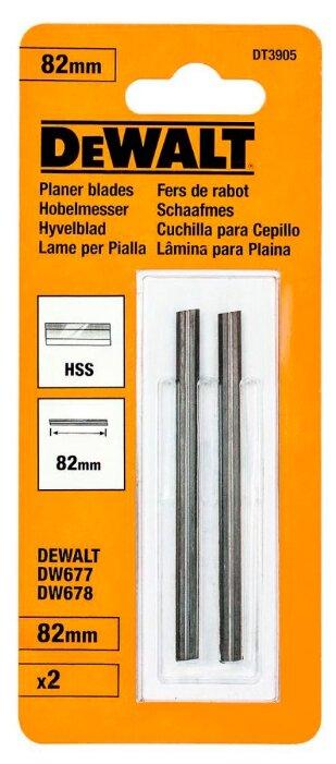 Набор ножей DeWALT DT3905 (2 шт.)