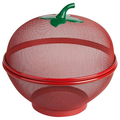 Webber Фруктовница Красное яблоко 26 см красный по цене 381