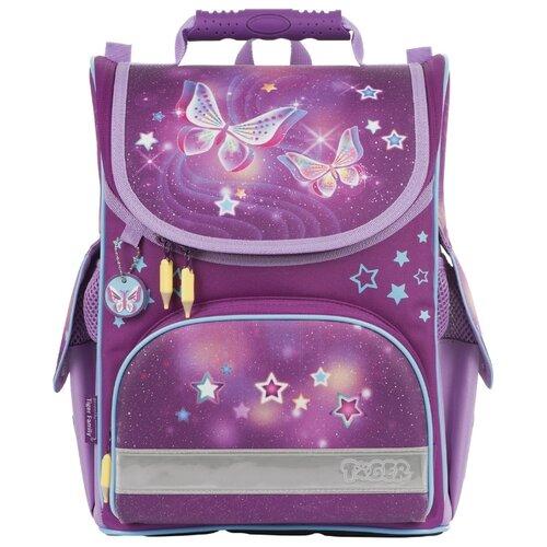 TIGER FAMILY ранец Nature Quest Starry Butterflies (227017), фиолетовый