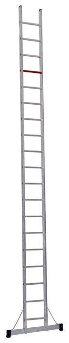 Лестница приставная 1-секционная CAGSAN T10055