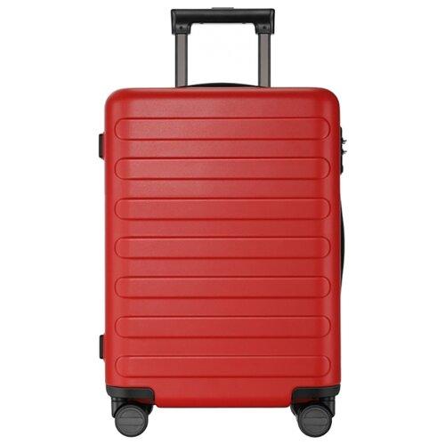 Чемодан Xiaomi 90 Points Seven Bar Suitcase 24 65 л, red чемодан xiaomi 90 points suitcase 1a 20 white