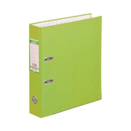 Купить Bantex Папка-регистратор Economy Plus A4, бумвинил, 50 мм лайм, Файлы и папки