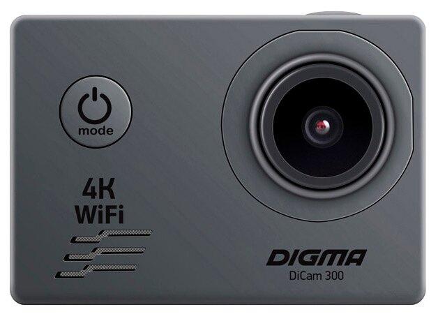 Экшн-камера DIGMA DiCam 300 фото 1