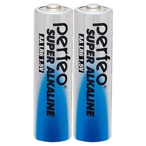 Фото - Батарейка AA щелочная Perfeo LR6/2SH Super Alkaline 2 шт батарейка d щелочная perfeo lr20 2bl super alkaline 2 шт