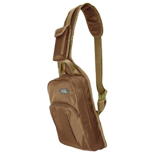 Рюкзак Aquatic, текстиль, коричневый гермосумка aquatic гc 30