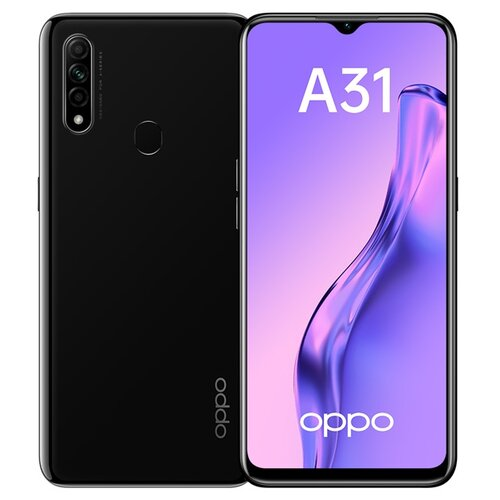 Смартфон OPPO A31 4/64GB черный смартфон