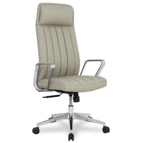 Компьютерное кресло College HLC-2413L-1 для руководителя, обивка: искусственная кожа, цвет: серый college hlc 1500hlx серый