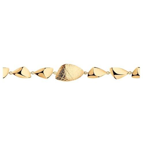 SOKOLOV Браслет из серебра 93050142, 18 см, 8.83 г
