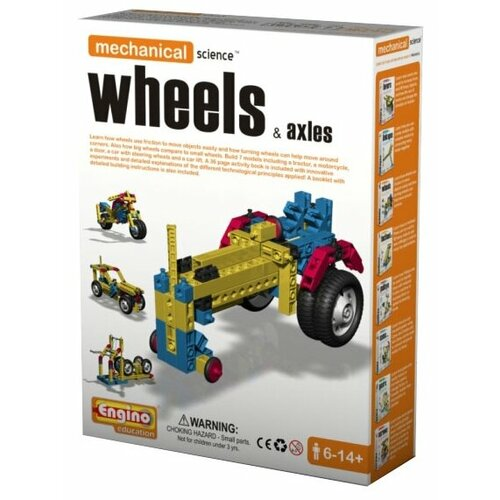 Купить Конструктор ENGINO Mechanical Science M03 Wheels&Axles, Конструкторы