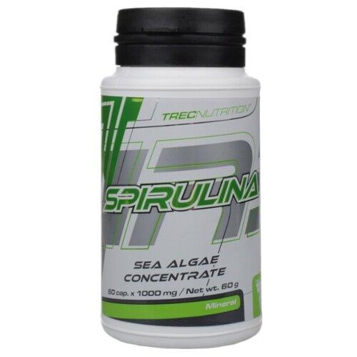 Фото - Trec Nutrition Spirulina в капсулах, пластиковая банка, 60 г biotech nutrition nitrox therapy 340 г