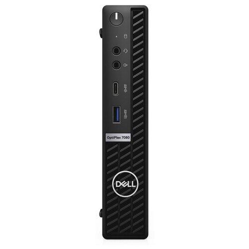 Настольный компьютер DELL Optiplex 7080 (7080-6918) Intel Core i7-10700/16 ГБ/512 ГБ SSD/Intel UHD Graphics 630/Windows 10 Pro черный компьютер