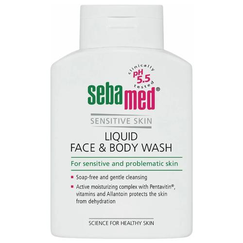 Гель для очищения лица и тела Sebamed Sensitive Skin, 200 мл