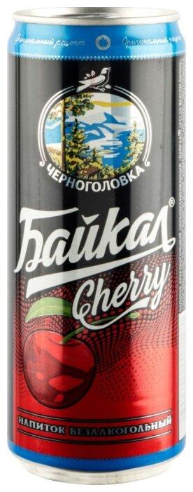 Напиток Байкал Черноголовка Cherry сильногазированный