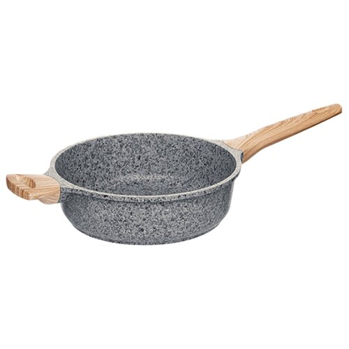 Сотейник Nadoba Mineralica 728428, 24 см, серый сковорода nadoba mineralica 24cm 728428
