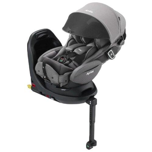 Фото - Автокресло группа 0/1 (до 18 кг) Aprica Fladea Grow Isofix 360° Safety Premium, серый автокресло группа 0 1 до 18 кг stm galaxy pro navy