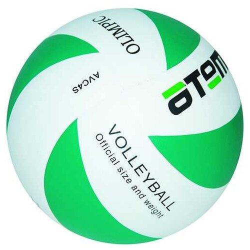 Волейбольный мяч ATEMI Olimpic зелено-белый