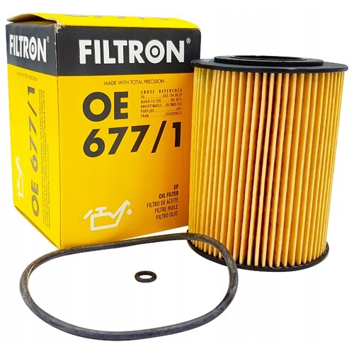 Масляный фильтр FILTRON OE 677/1 цена 2017