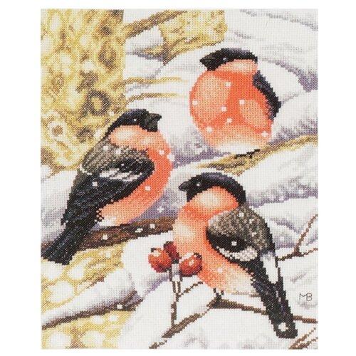 Купить Lanarte Набор для вышивания Снегири на ветке 21 х 27 см (0169675-PN), Наборы для вышивания