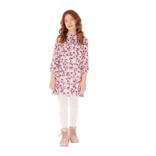Платье INFUNT размер 140, розовый, Платья и сарафаны  - купить со скидкой