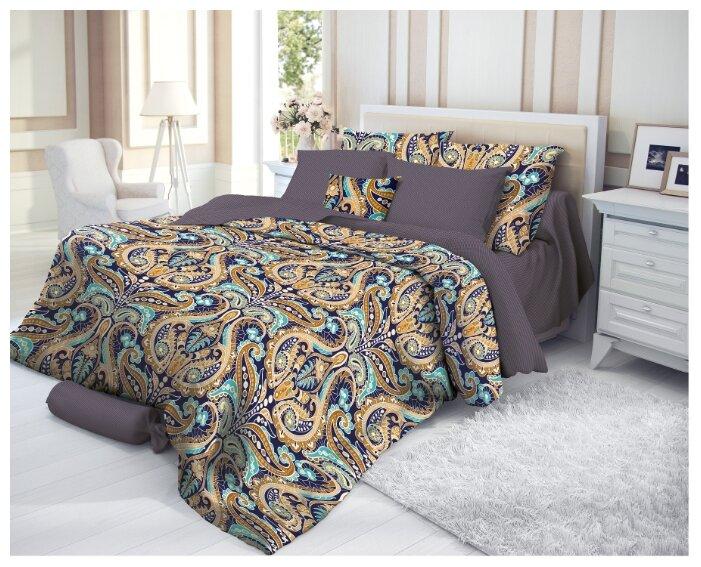 постельное белье дуэт VEROSSA Deria сатин 4 нав.50х70 и 70х70см, арт.719573