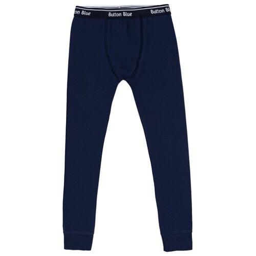 Купить Кальсоны Button Blue 219BBBU1301 размер 98-104, синий, Термобелье