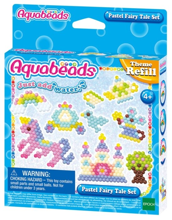 """Aquabeads Набор бусин """"Сказочные игрушки"""" 31632"""